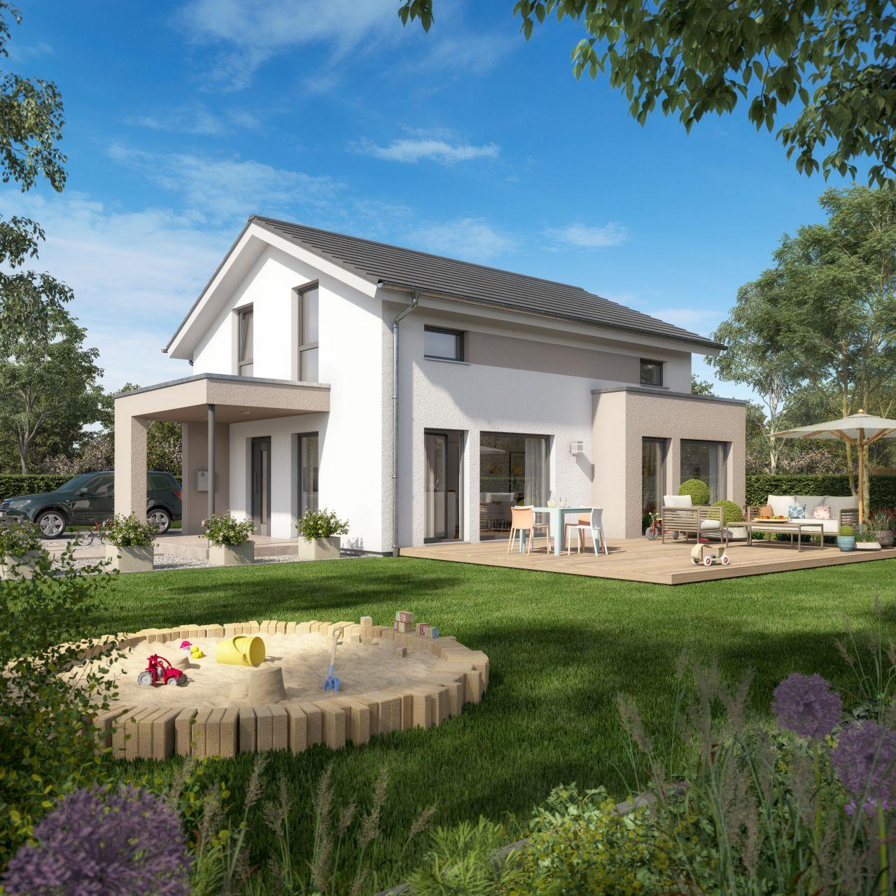 Ihr sollt auch einmal an die Zukunft denken.....Mit Living Haus bauen!