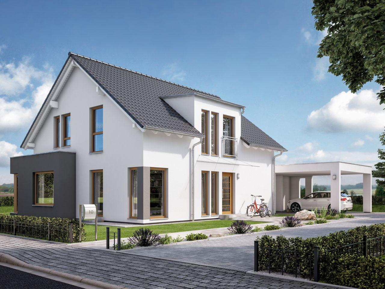 Modernes & energieeffizientes Einfamilienhaus mit viel Platz