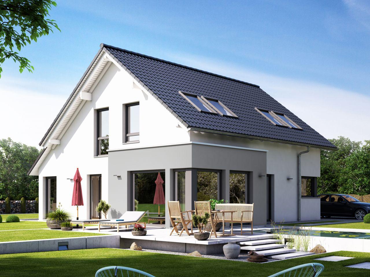 Energieeffizientes & modernes Einfamilienhaus
